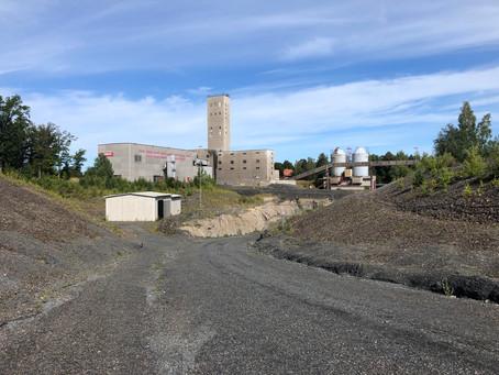 Dannemora gruvor med gruvisar
