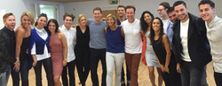 Linda Green with BBC Strictly Pro-Dancer