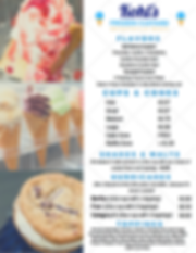 Custard Menu Updated Prices With Topping