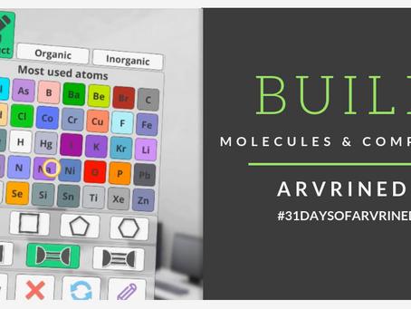 AR VR Molecules Editor - Day 11 #31DaysofARVRinEDU