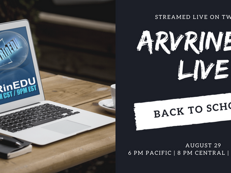 ARVRinEDU Live, EdSurge Article,  SLJ Course & Vicki Davis Interview