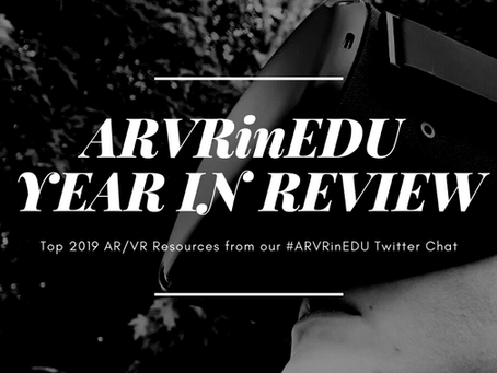 Top 2019 ARVRinEDU Resources