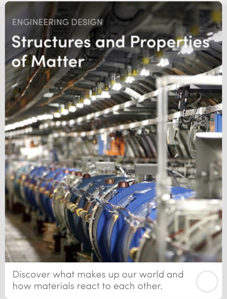 Structures and Properties of Matter