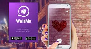 WallaMe messaging app #31DaysofARVRinEDU