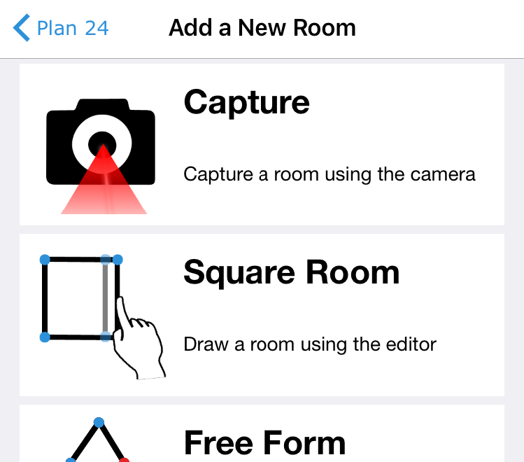 Capture feature in Magicplan #31DaysofARVRinEDU