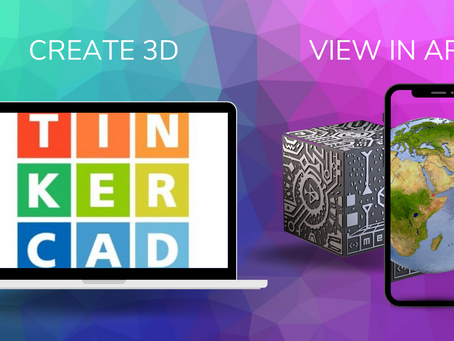 3D to AR using Tinkercad & Merge Object Viewer
