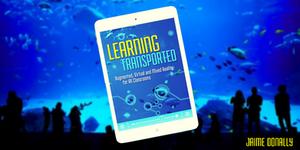 Learning Transported Book #31DaysofARVRinEDU
