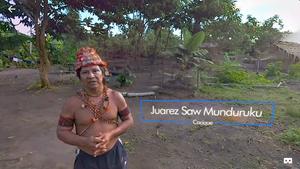 StoryUp app showing the Amazon people #31DaysofARVRinEDU