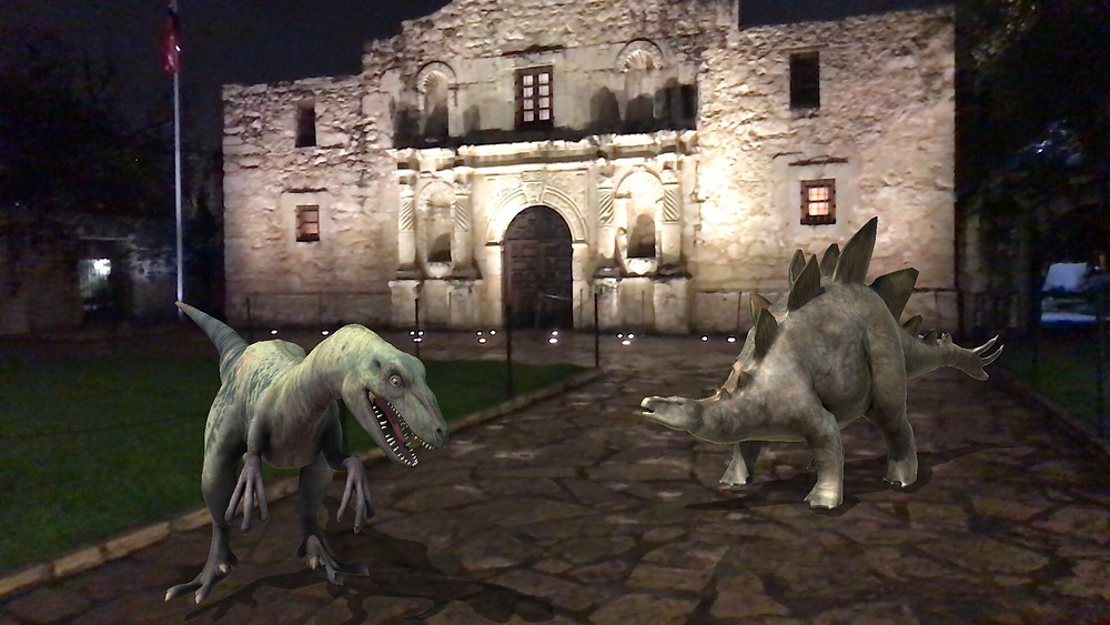 3DBear at the Alamo