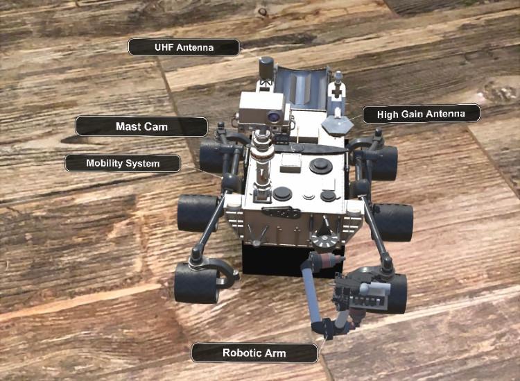 MERGE EDU Platform Rover #31DaysofARVRinEDU