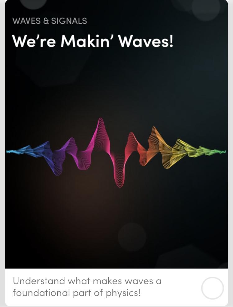 We're Makin' Waves