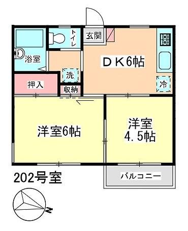 Kハイツmadori 202.jpg