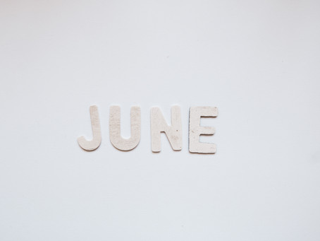 June 2021 - May oh my how you flew by!