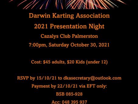 2021 DKA Presentation Night