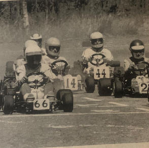 A. Down the straight for this mixed senior and junior field.jpg