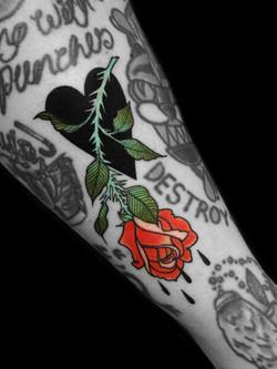 Enisa's sad rose