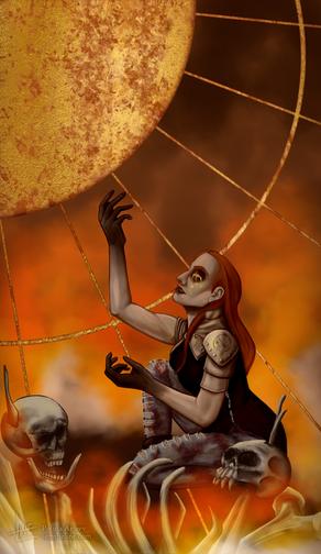 Arabella Sun as Judgement