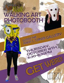 Walking Art Photobooth Poster