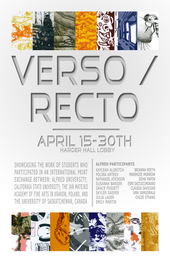 Verso Recto Exhibition Poster