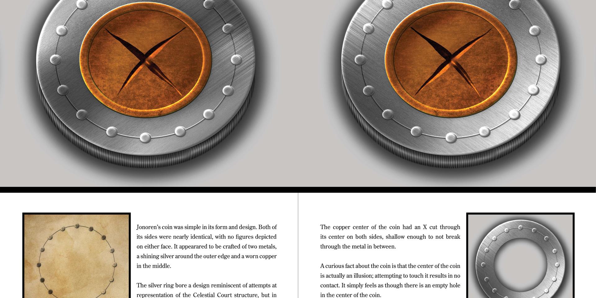 Sample Spread 8 Jonoren's Coin