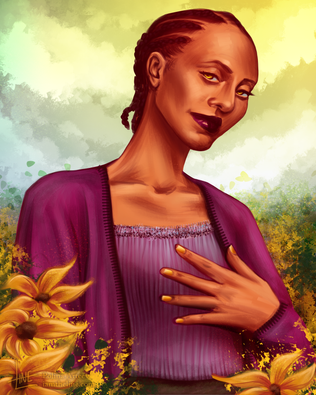 Amidst the Sunflowers