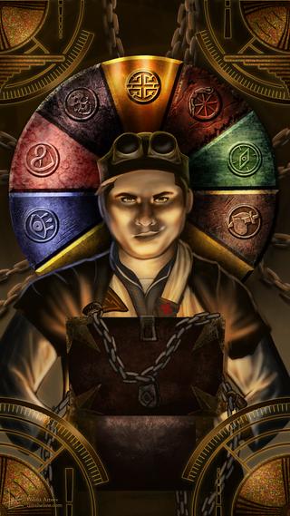 Atticus as Wheel of Fortune