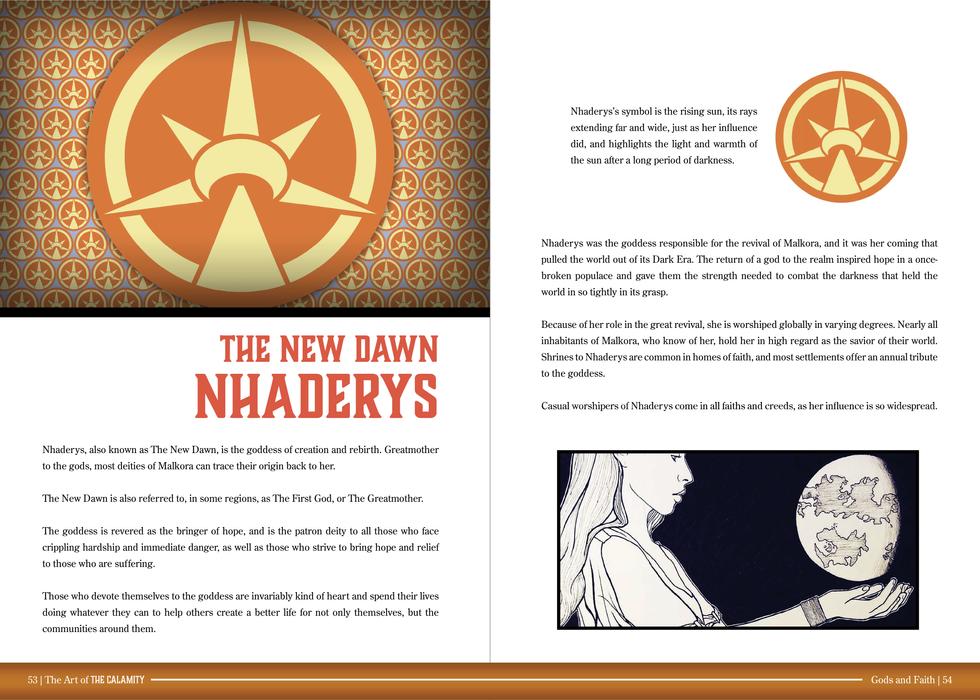 Sample Spread 5 Nhaderys