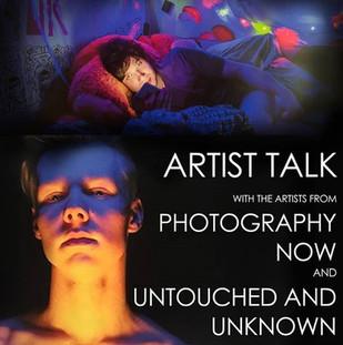 Artist Talk Event Flyer / Social Media Post