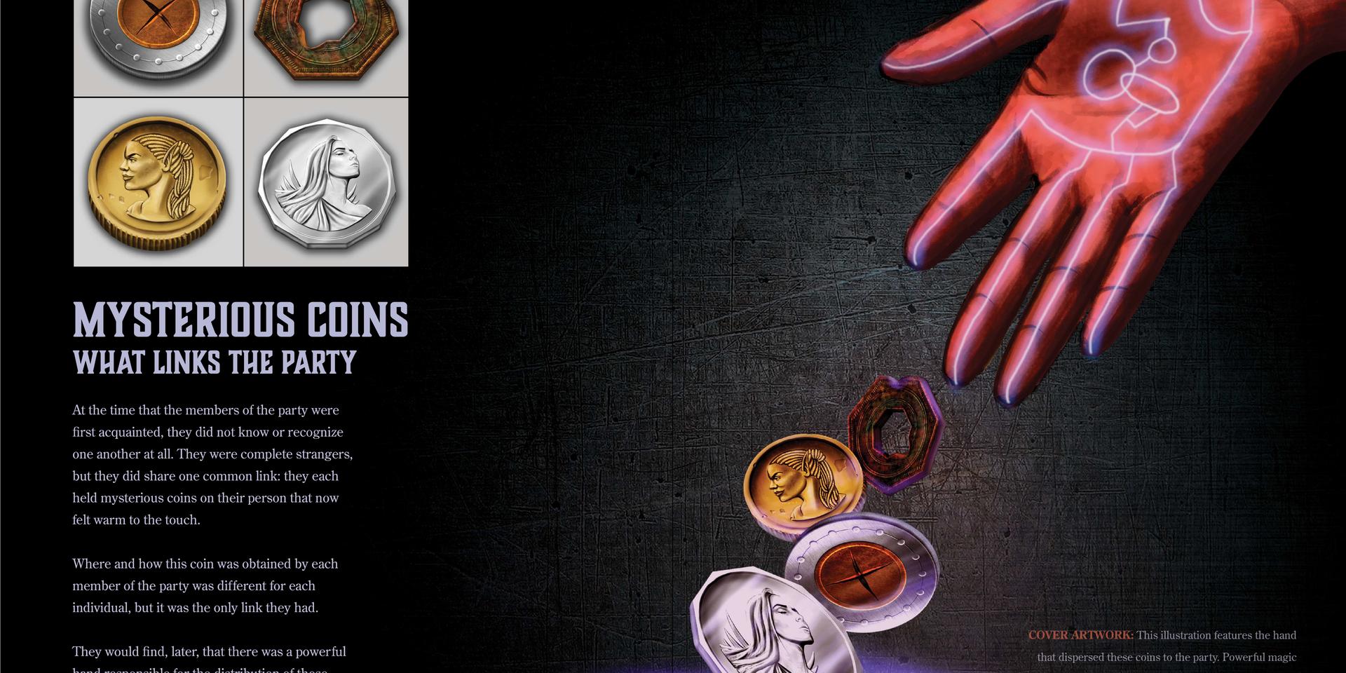 Sample Spread 7 Coins