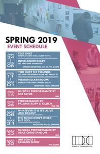 Turner Spring 2019 Events