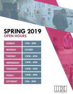 Turner Spring 2019 Hours