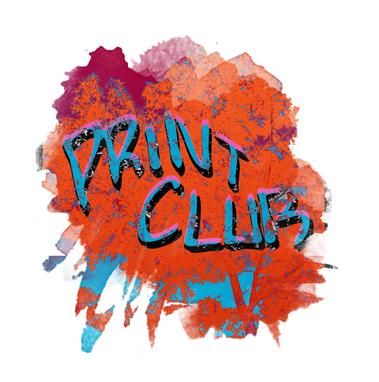 Print Club Alternative Logo Graphic