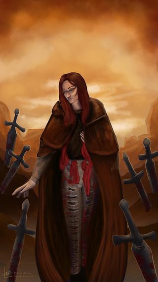 Strix as Six of Swords