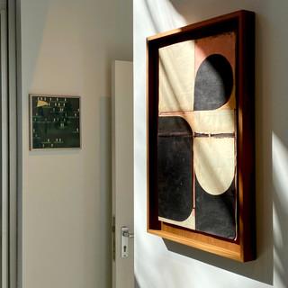 Pol Mara, Jazz on 2nd street, 1970 & Jesse Willems, Universa, 2021