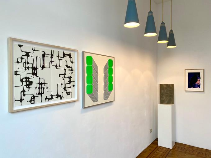 Ibram Lassaw, Thomas Lenk, Victor Vasarely, Rafaël Voets