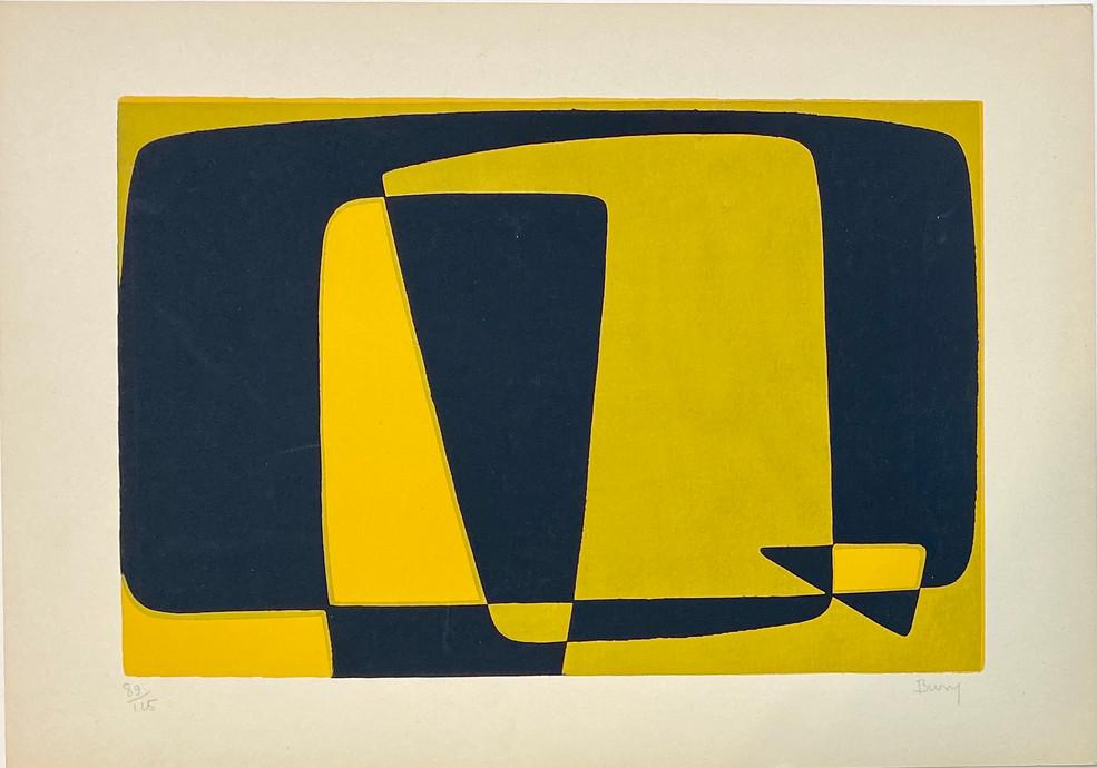 Pol Bury, Montbéliard, 1955