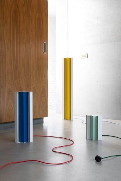 Axelle Vertommen, Brion lamps, photo: Kaatje Verschoren