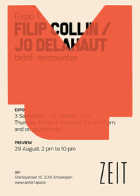 Expo 1, Filip Collin / Jo Delahaut, brief: encounter