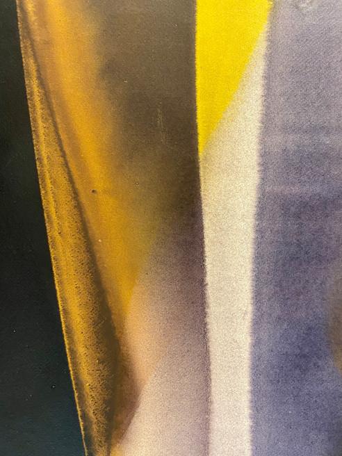 Pol Mara, untitled water colour (detail), 1962