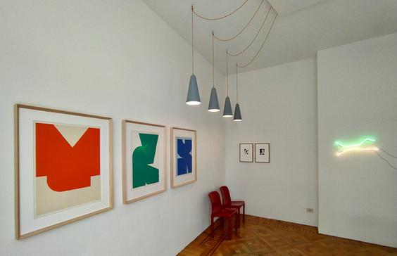 Room 1, works by Jo Delahaut & Filip Collin