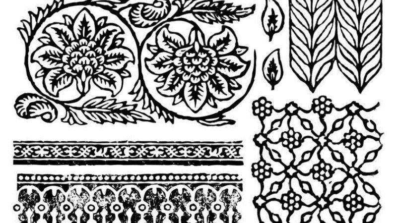 IOD Iron Orchid Designs Stamp Bohemia