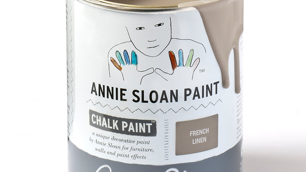 Annie Sloan Chalk Paint™ French Linen 120ml