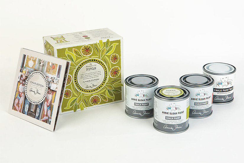 Annie Sloan Charleston Paint Set - Firle