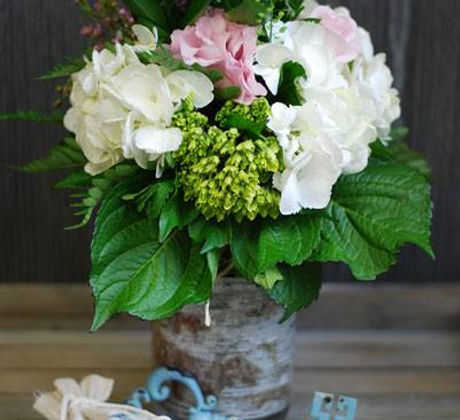 Dini and Co Mason Jar Bouquet