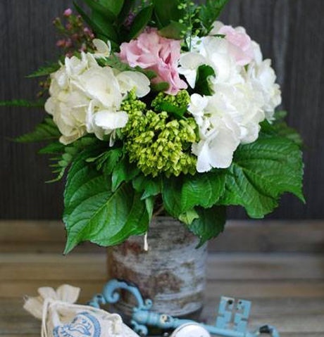 Dini and Co Mason Jar Bouquet