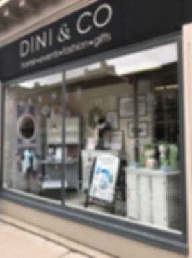 Dini and Co Store Front Left