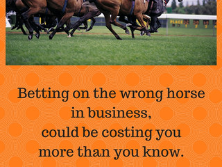 Betting On The Wrong Horse In Business