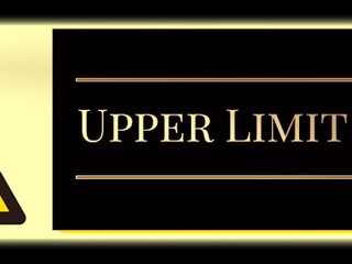 WARNING - Upper Limit Problem Ahead
