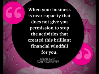 Consistency and Cash Flow