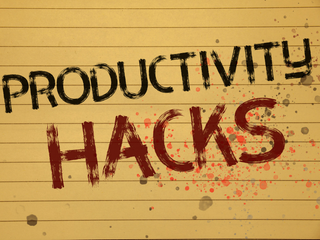 Productivity Hacks to Make More Money in Your Business